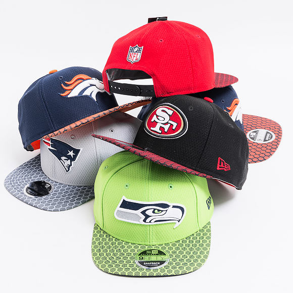 Kšiltovka New Era On Field NFL17 San Francisco 49ers 9FIFTY Official Team Color Snapback