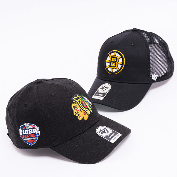 Kšiltovka 47 Brand Branson Boston Bruins Black Snapback