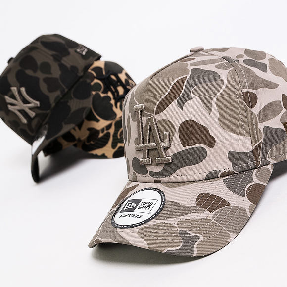 Kšiltovka New Era 9FORTY A-Frame Los Angeles Dodgers Light Green Camo Snapback