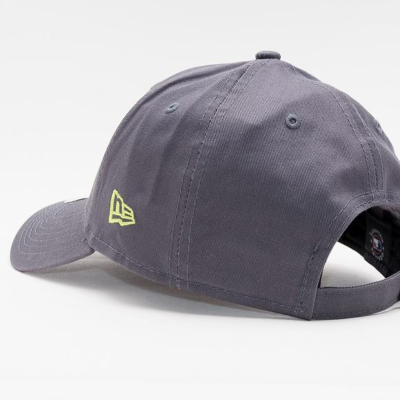 Kšiltovka New Era 9FORTY MLB League Essential Los Angeles Dodgers Strapback Graphite