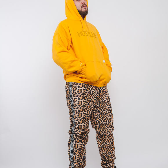 Mikina S Kapucí 40s & Shorties Hoodie Gold