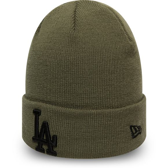 Kulich New Era Los Angeles Dodgers League Essential Cuff Knit New Olive