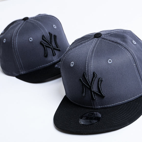 Dětská Kšiltovka New Era 9FIFTY New York Yankees Essential Grey Heather/Black Child