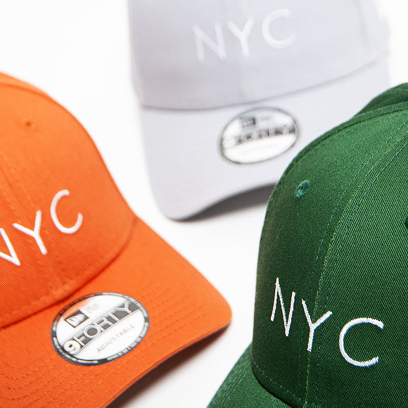 Kšiltovka New Era 9FORTY NYC Seasonal Rust / Optic White Strapback