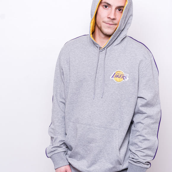 Mikina New Era Los Angeles Lakers Piping Hoody