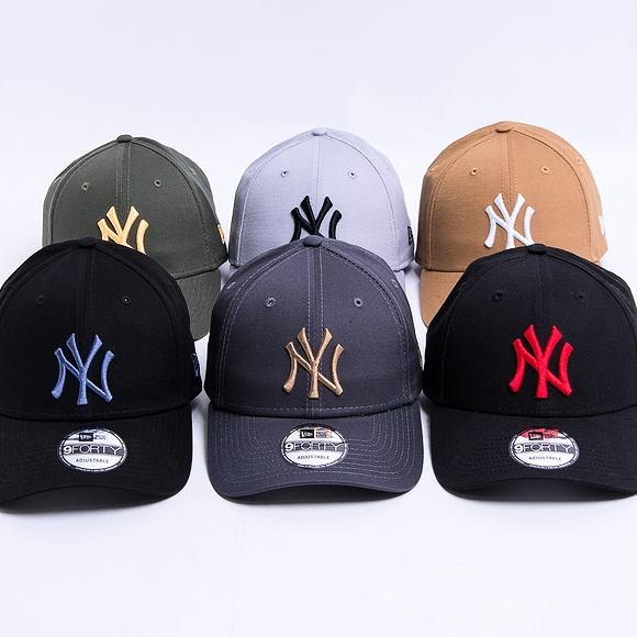 Kšiltovka New Era 9FORTY Color Essential Los Angeles Dodgers Strapback Navy / UCY