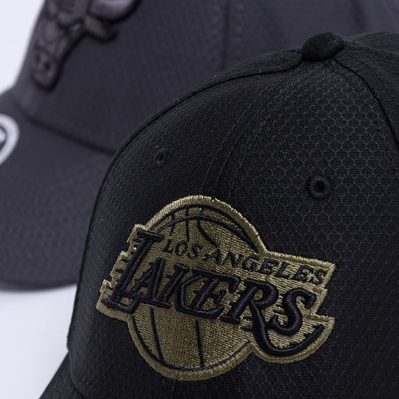 Kšiltovka New Era 9FORTY Tonal Snapback Los Angeles Lakers Strapback Black
