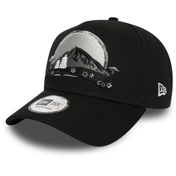 Kšiltovka New Era 9FORTY A-Frame Far East New Black/Gray/Grey