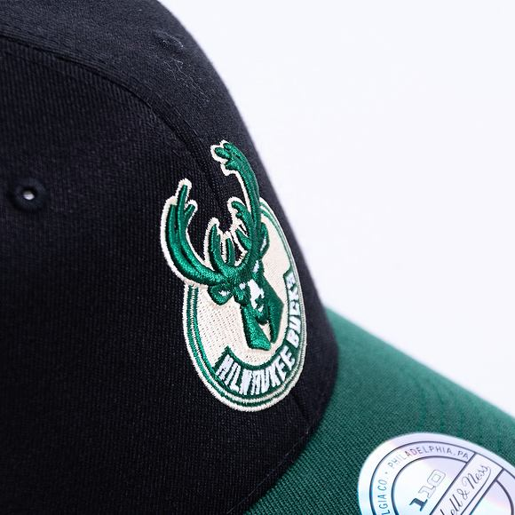 Kšiltovka Mitchell & Ness 2 Tone 110 Milwaukee Bucks