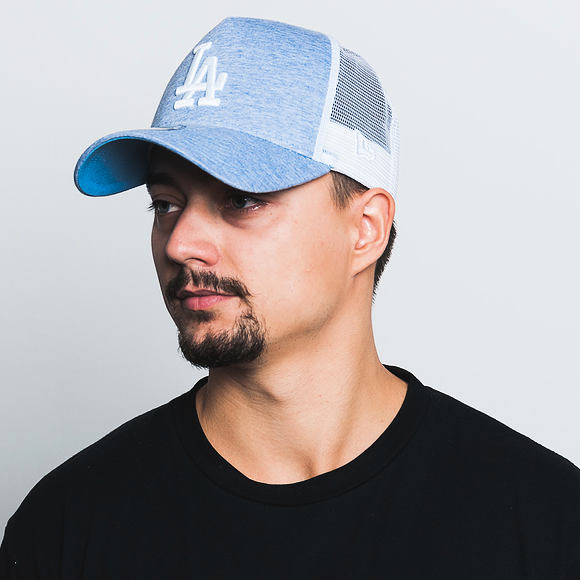 Kšiltovka New Era Essential Trucker Los Angeles Dodgers 9FORTY Blue/White Snapback