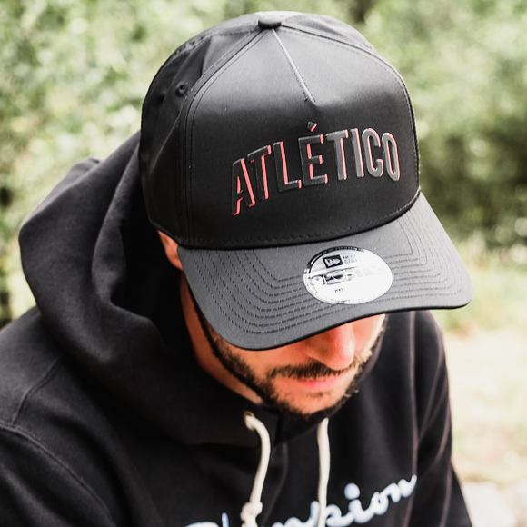 Kšiltovka New Era 9FORTY A-FRAMErame Wordmark Athletico Madrid Black