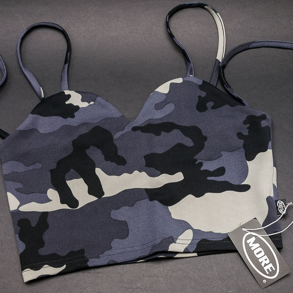 Dámský Top More Than Dope Bustier Camo
