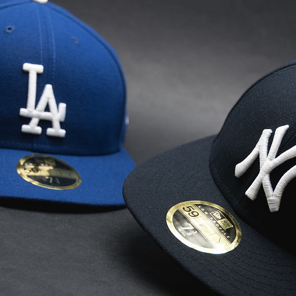 Kšiltovka New Era LC Authentic Perfomance Los Angeles Dodgers 59FIFTY LOW PROFILE Blue/White