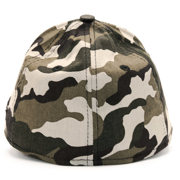 Kšiltovka New Era League Essential Los Angeles Dodgers 39THIRTY Woodland Camo/Black