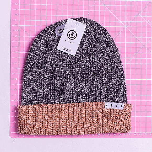 Kulich Neff Peg Beanie Twill Black/Brown