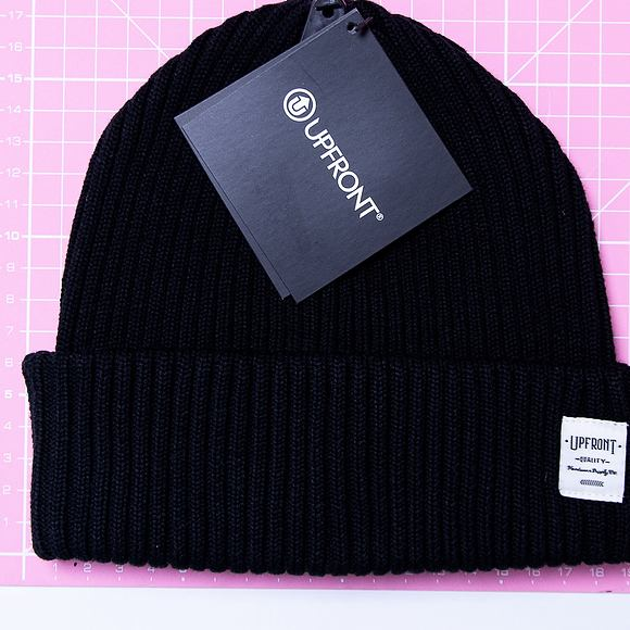 Kulich Upfront Bridge Beanie Black