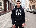 Mikina S Kapucí New Era Nos Po Hoody New York Yankees Navy