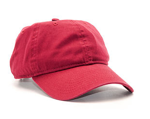 Kšiltovka New Era Unstructured Carmine 9FORTY Strapback