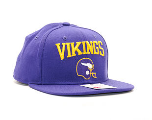 Kšiltovka New Era Heritage Wool Minnesota Vikings 9FIFTY Purple Snapback