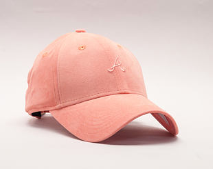 Dámská Kšiltovka New Era Women Felt Atlanta Braves 9FORTY Blush Strapback