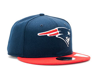 Kšiltovka New Era Team New England Patriots 9FIFTY Official Team Color Snapback
