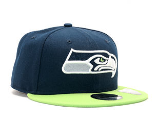 Kšiltovka New Era Team Seattle Seahawks 9FIFTY Official Team Color Snapback