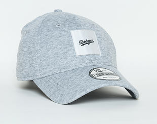 Kšiltovka New Era Satin Patch Los Angeles Dodgers 9FORTY Gray/White Strapback