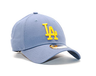 Kšiltovka New Era League Essential Los Angeles Dodgers 9FORTY Slate/Gold Strapback