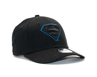 Dětská Kšiltovka New Era Char Outl Superman 9FORTY Youth Black/Blue Azzure Strapback