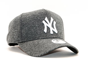 Dámská Kšiltovka New Era 9FORTY A-Frame New York Yankees Jersey Heather Black/White Snapback
