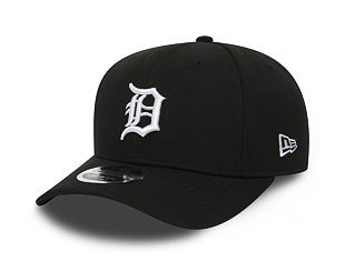 Kšiltovka New Era 9FIFTY Detroit Tigers Stretch Snapback Black/Official Team Colors