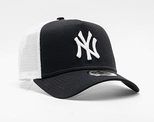 Kšiltovka New Era Clean Trucker 2 New York Yankees Snapback Navy / Optic White