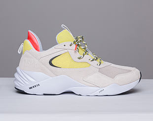 Boty ARKK Kanetyk Suede W13 Off White/Neon Lime EL3802-1137-M