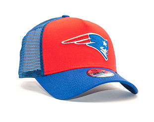 Dětská Kšiltovka New Era 9FORTY Trucker New England Patriots Child FRD / Oceanside Blue Snapback