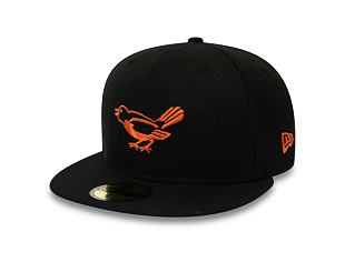 Kšiltovka New Era 59FIFTY Baltimore Orioles Retro Coop Pack Black/Orange