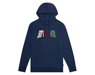 Mikina HUF Suspension Arched Hoodie Insignia Blue