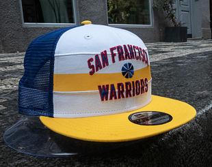 Kšiltovka New Era 9FIFTY San Francisco Warriors Stripe Hardwood OTC