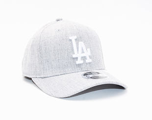 Kšiltovka New Era 9FIFTY Los Angeles Dodgers Stretch Snap Heather Base
