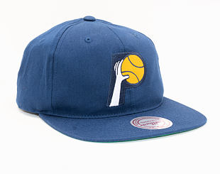 Kšiltovka Mitchell & Ness Indiana Pacers 462 Team Logo Deadstock Throwback