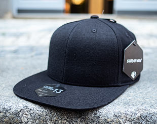 Kšiltovka State of WOW Crown 13 Snapback Black