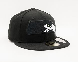 Kšiltovka New Era 59FIFTY NFL Elements 2.0 Seattle Seahawks Black