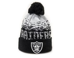 Kulich New Era NFL Sport Knit Cuff Oakland Raiders  Team Color