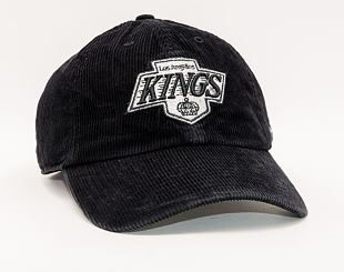 Kšiltovka 47 Brand Los Angeles Kings Corduroy CLEAN UP Black