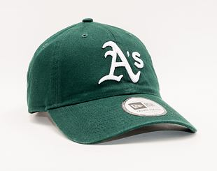 Kšiltovka New Era 9TWENTY MLB Washed Casual Classic Oakland Athletics Team Color