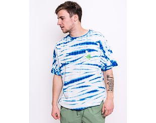 Triko RIP N DIP Hang 10 Tee Blue & White Stripe Dye