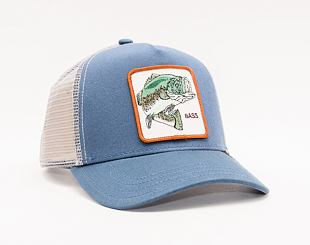 Kšiltovka Goorin Trucker Big Bass Blue 01-0486
