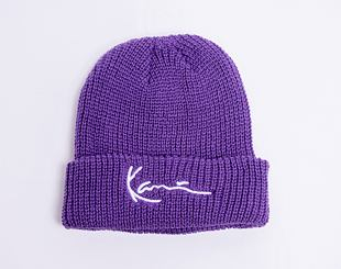 Kulich Karl Kani Signture Fisherman Beanie Purple 7020024