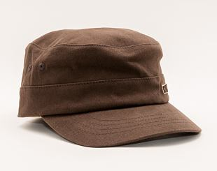 Kšiltovka Kangol Cotton Twill Army Cap Brown 9720BC-BR204