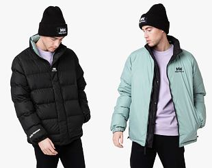 Bunda Helly Hansen Yu Reversible Puffer Jacket 990 Black