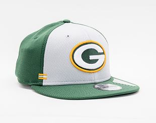 Kšiltovka New Era 9FIFTY NFL20 Sideline Home Green Bay Packers Snapback Team Color